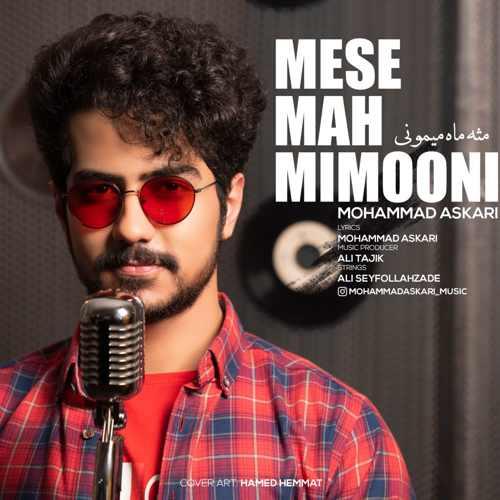 دانلود موزیک جدید محمد عسکری مثه ماه میمونی